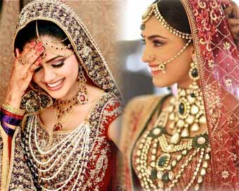 A bride is incomplete without jewellery