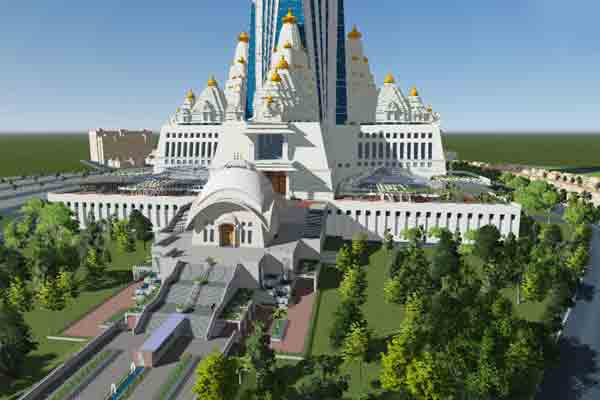 World's Tallest Temple Coming Up In The Land Of Krishna