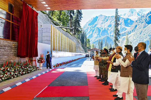 In pictures: PM Modi inagurates Atal Tunnel at Rohtang