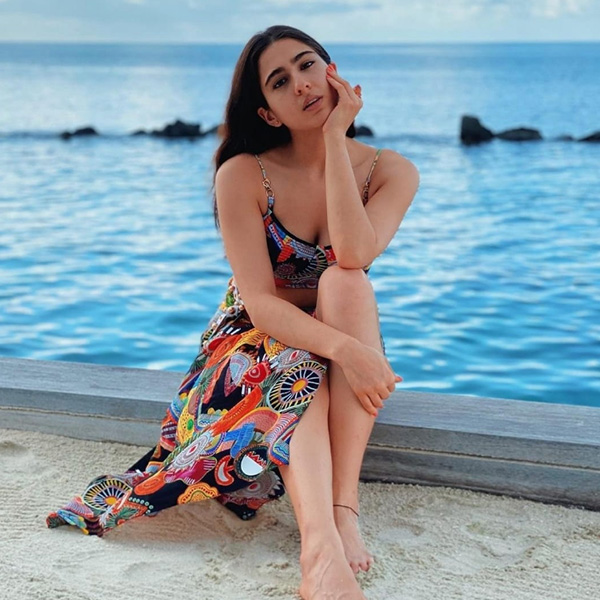 Sara Ali Khan shares exotic pictures form her Maldives trip