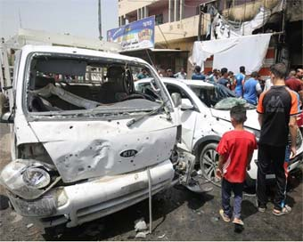 11 killed in Baghdad suicide car bombing