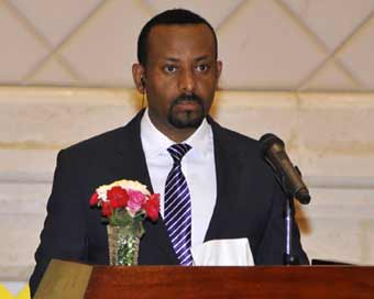 Explosion hits Ethiopian PM rally