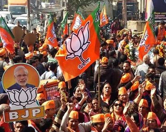 BJP retains all seven seats in Delhi