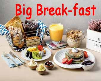Eating a bigger breakfast may help you lose weight