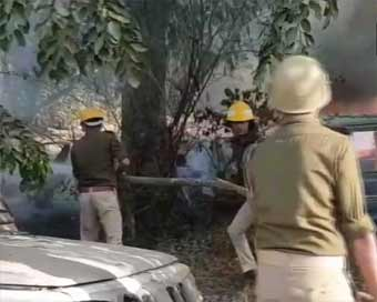 Police inspector killed in UP amid violence over cow
