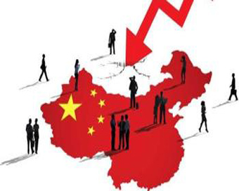 China GDP falls to 26-year low