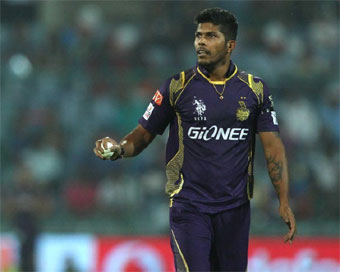 Umesh joins KKR training, likely to play against Punjab