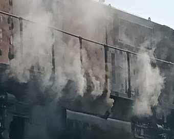 Chandigarh-Dibrugarh Express catches fire, 2 dead