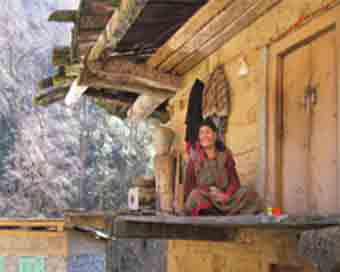 The old woman who lives alone in a Himachal wildlife park
