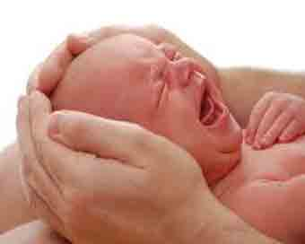 Acupuncture to reduce excessive crying in babies