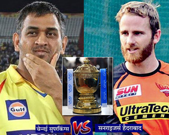 Chennai, Hyderabad face off in high-octane IPL final