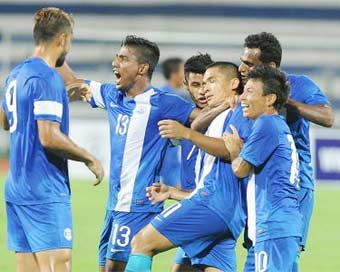 Indian football team rises to 101 in FIFA rankings
