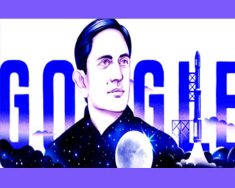 Google Doodle celebrates Vikram Sarabhai's 100th b'day