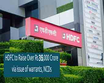 HDFC to issue NCDs, hopes to raise Rs 35,000 crore