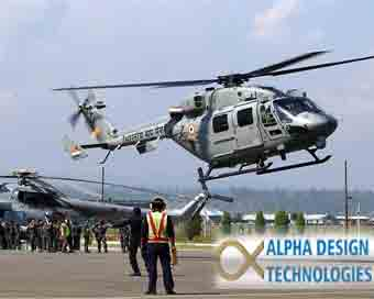 Alpha Design to jointly upgrade IAF helicopters