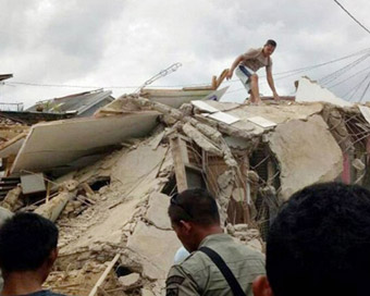 82 killed as powerful quake jolts Indonesia