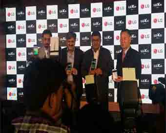 LG launches India\