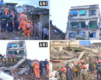 Two killed in Maharashtra building collapse