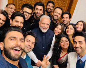 PM wants entertainment industry to feel part of nation