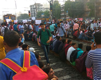 Agitation paralysing Mumbai suburban services withdrawn