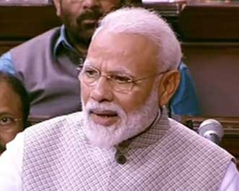 Landmark day for India: Modi on RS clearing CAB