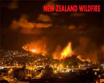 Over 1,000 evacuated in New Zealand wildfire
