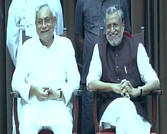 Nitish Kumar takes oath as Bihar CM again, rejoins hand with BJP