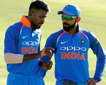 Always strive to be the best but in the right way: Kohli to Pandya