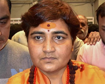 Suspicious letter delivered to Pragya Thakur in Bhopal
