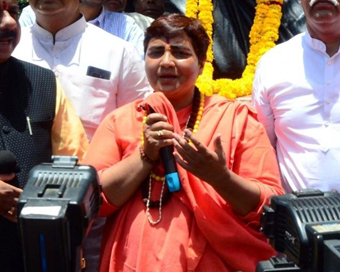 Paradoxes about action on Pragya Thakur