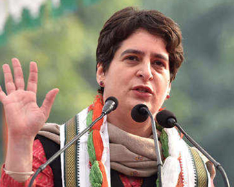 Priyanka Gandhi interacts with youth workers virtually