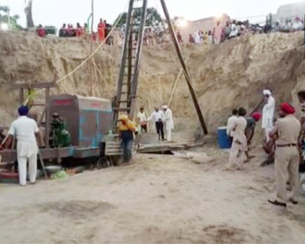 Child retrieved from Punjab borewell is dead, claims family
