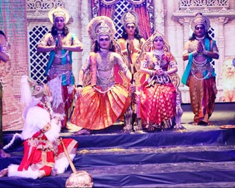 Visit to see technically most advanced Ram Leela in Delhi