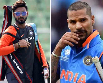 World Cup: Rishabh Pant to fly in as cover for Shikhar Dhawan