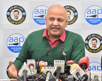 Sisodia became poorer by Rs 17,736 in 5 years, wife gets richer