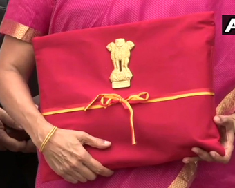 Sitharaman dumps Budget briefcase for