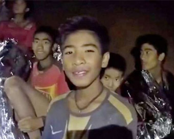 13 rescued from Thai cave lost 2 kg weight: Medics