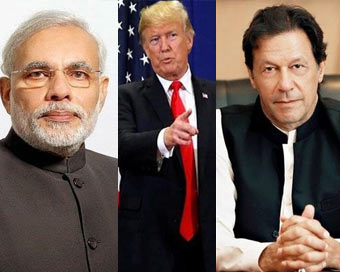 Trump again offers to help India-Pak on Kashmir