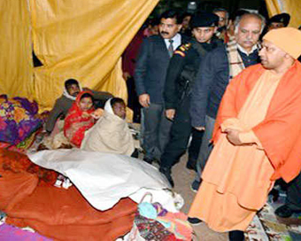 CM Yogi makes surprise check of shelter homes