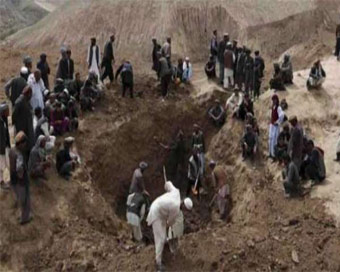 40 people killed in Afghan gold mine cave-in
