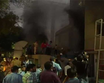 Fire in AIIMS Trauma Centre, no casualty