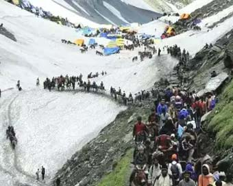 Over 1 lakh pilgrims perform Amarnath Yatra in 8 days