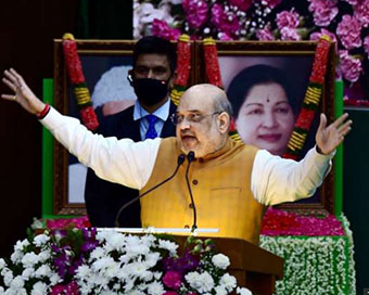 People in Tamil Nadu will teach lesson to those practicing family politics: Amit Shah
