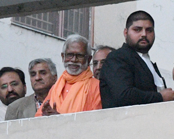 Aseemanand among 4 acquitted in Samjhauta blast