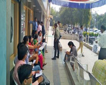 Many ATMs run dry but queues get shorter