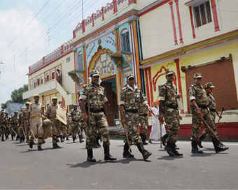 Ayodhya put on high alert following terror threat