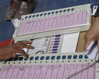 Over 52 per cent voting in MP by-polls