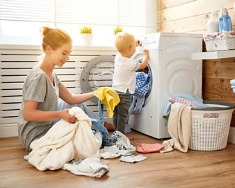 Babies exposed to household cleaning products prone to asthma