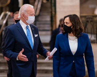 Kamala Harris speaks first, Joe Biden goes next: A pattern slowly emerges