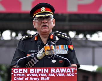 Army chief for stern action against Pakistan